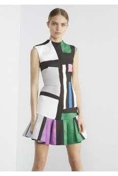 The Calculated Risk Dress from CAMILLA AND MARC's Ready-To-Wear Resort 2015 collection.