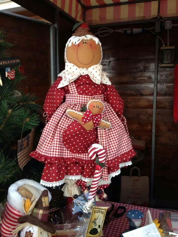 Gingerbread doll