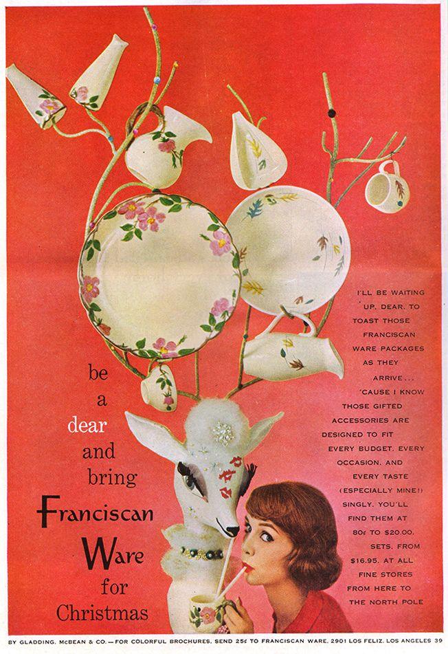 Franciscan Ware - 1957