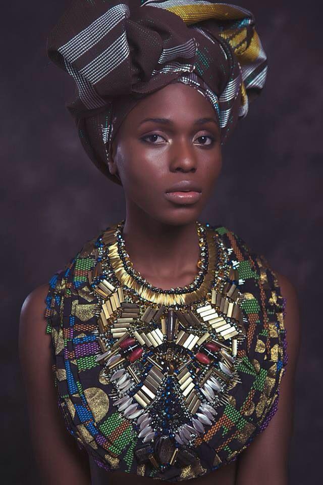 African culture. Jewelry by Anita Quansah