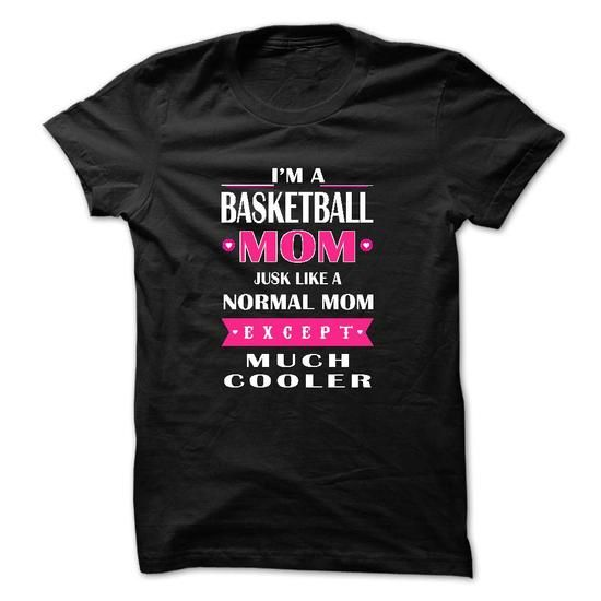 Basketball mom cooler T Shirts, Hoodies. Check price ==► https://www.sunfrog.com/LifeStyle/Basketball-mom-cooler.html?41382