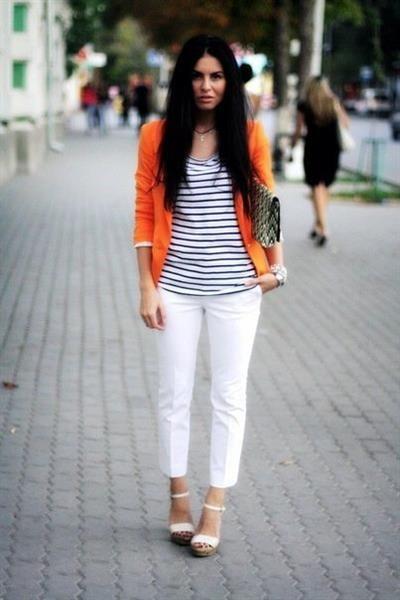 Оранжевый пиджак фото