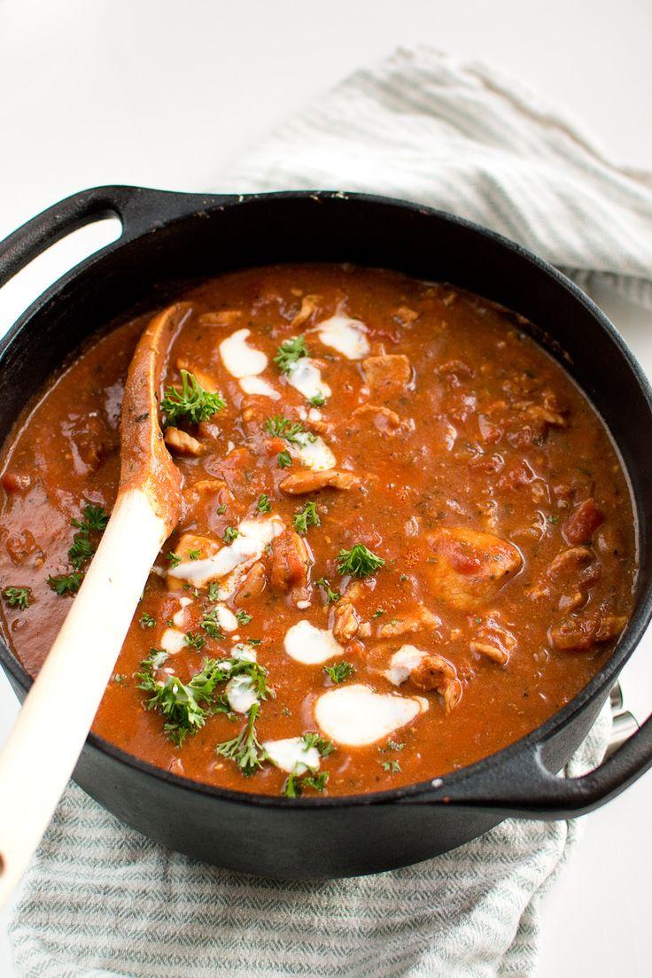 Chili con carne utan bönor, med kyckling
