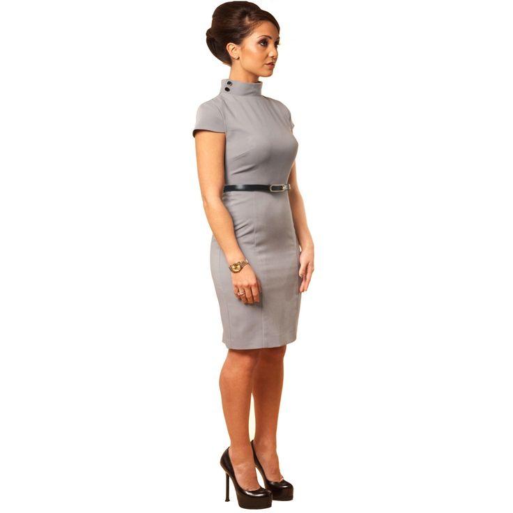 Killer Grey Work Dresses