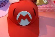 Haz una divertida gorra de Mario Bros, una manualidad para niños muy original, solo necesitas foami y ganas de hacer cosas nuevas
