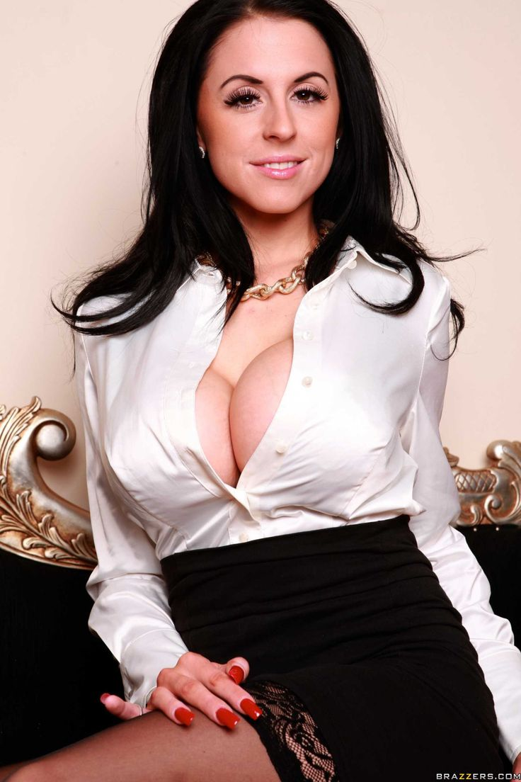 Tight blouses white breasts big