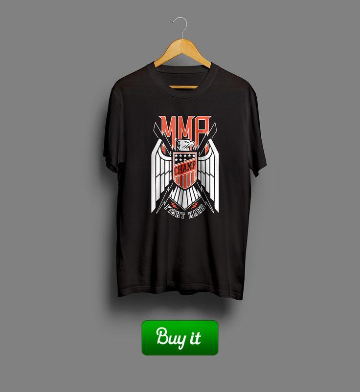 MMA fight hard |  #Смешанные #боевые #искусства #MMA #Mixed #Martial #Arts #футболка #tshirt #спорт #sport #unlimited #Ecko #ufc #fight #hard