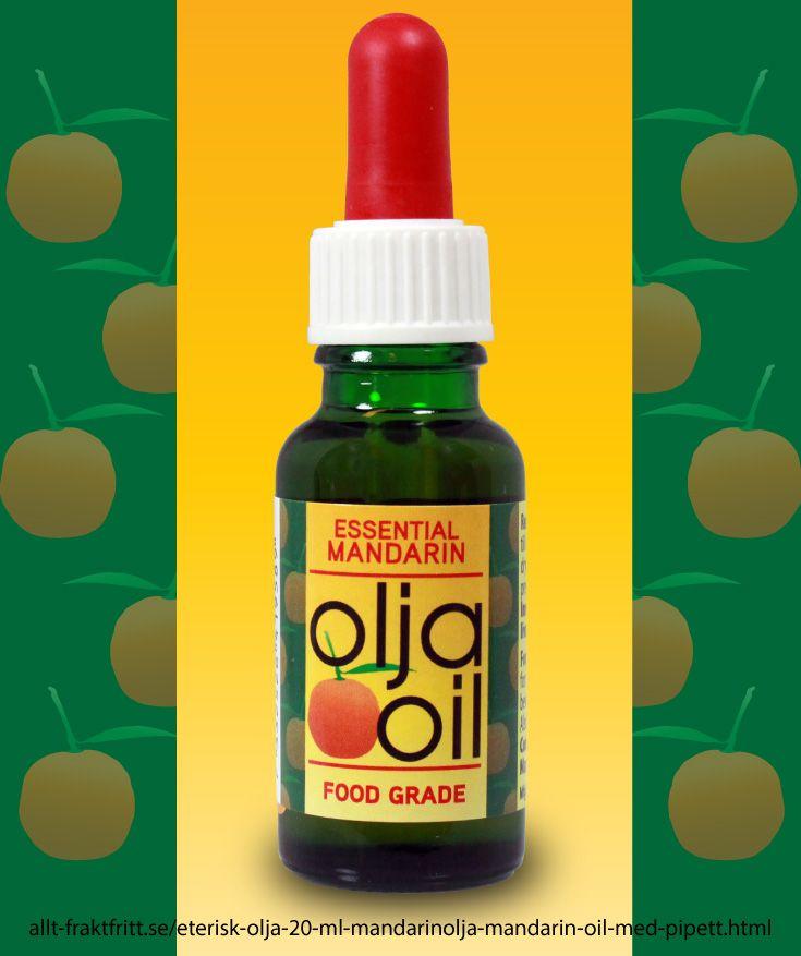 Mandarinolja, eterisk olja av mandarin. Mandarinoljan finns i mandarinernas skall. Livsmedelskvalitet.