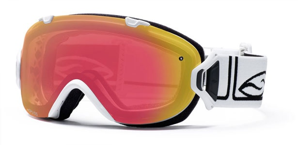 I/OS Smith Goggles with Red Sensor Mirror