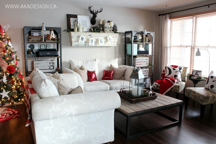 Cozy Christmas In The Suburbs Canadian Bloggers Christmas Home Tour