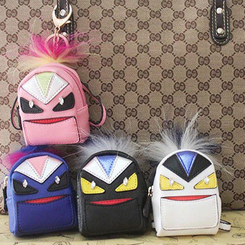 6 Color Kelly Handbag Purse Birkin Keychain Peekaboo backpack Monster CHARM gift #Unbranded