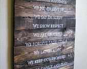 Joshua 1:9 Nautical theme hand painted scripture sign on pallet wood