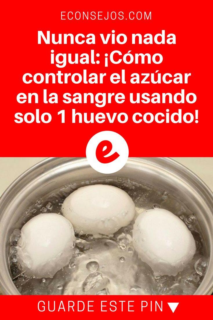 Azúcar en sangre   Nunca vio nada igual: ¡Cómo controlar el azúcar en la sangre usando solo 1 huevo cocido!   Un super tip de la medicina natural revelada ahora para usted. Lea y sepa todo.