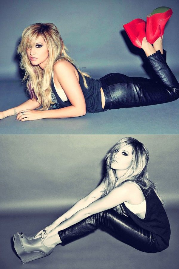 Ashley Tisdale on the Cover of Icon Magazine | Celebs in ...