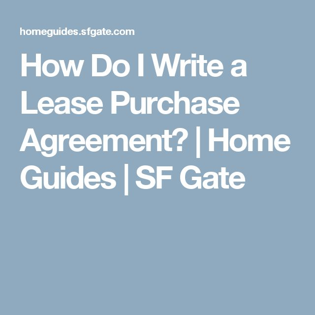 The  Best Purchase Agreement Ideas On   Budget