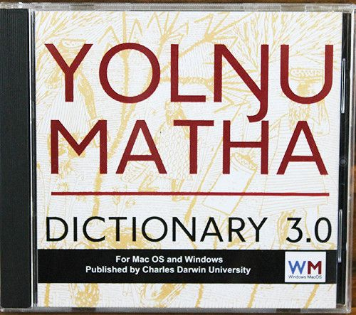 YOLNGU MATHA 3.0 CDROM CHRISTIE - Charles Darwin University Bookshop