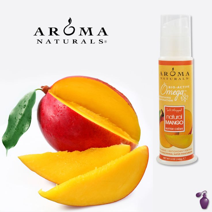 All Natural Beauty: Aroma Natural Omega X Mango Butter | Eau Talk - The Official FragranceNet.com Blog