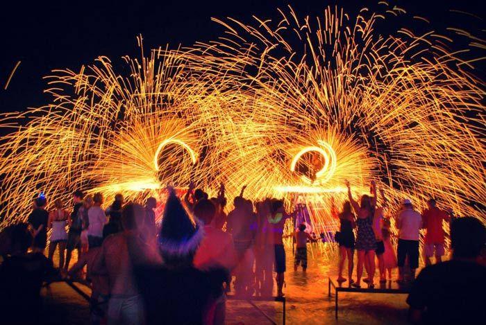 Ark Bar Beach Party, Koh Samui, Thailand