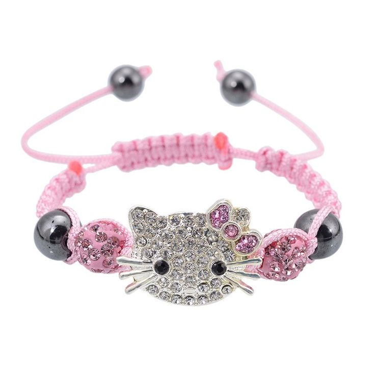 Bracelet en forme de hello kitty