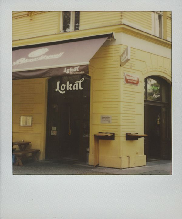 Lokál /// Polaroid Prague city guide www.spud.cz