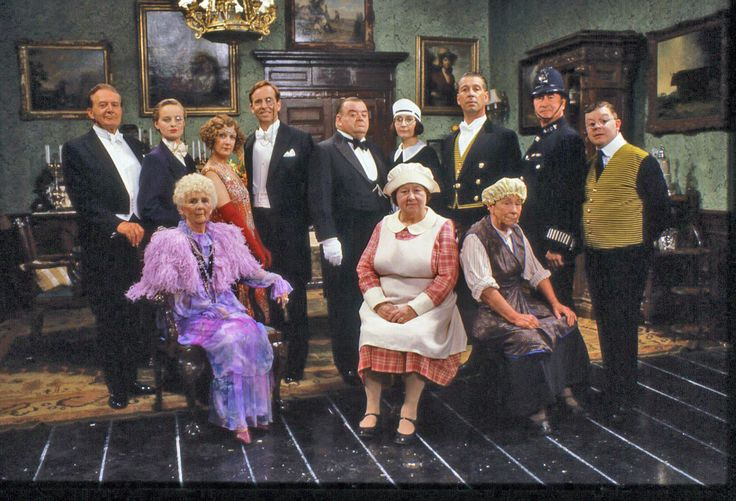 You Rang, M'Lord? (1988–1993, season 1-4) is a TV series by the BBC about the adventures and misadventures of Lord Meldrum, his family and their servants. The series is set in 1920's and is similar to the Downton Abbey TV series, but with more comedy. The script is excellent.