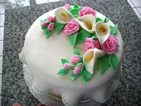 how to make mothers day cakes with fondant