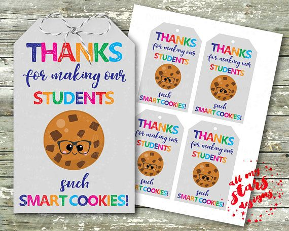 photograph relating to Smart Cookie Printable referred to as Due For Generating Our College students These kinds of Good Cookies Trainer