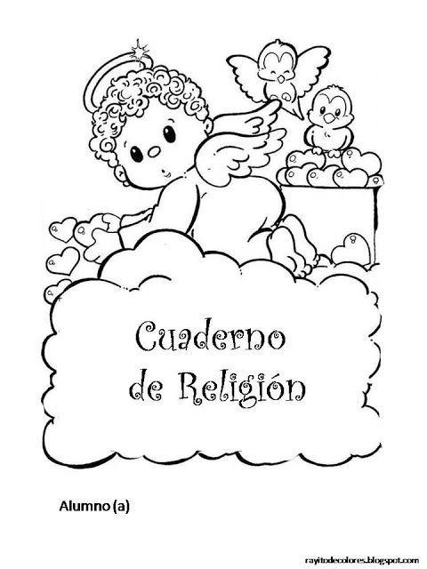 Resultado de imagen de portadas de religion para colorear   portadas ...