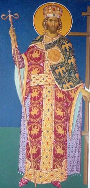 St. Constantine-Fresco