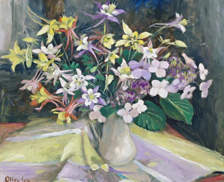 Columbines, 1962, Margret Olley