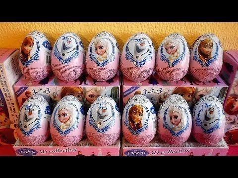 ZAINI SURPRISE EGGS: Disney Frozen Olaf Elsa, Disney Princess, Donald Duck, Doc McStufinns, Planes - YouTube
