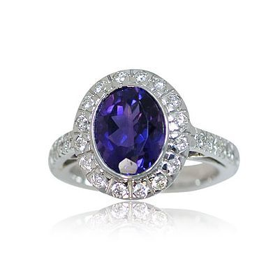 This is one more dazzling color gem stone ring - Parris Jewelers #jewelry