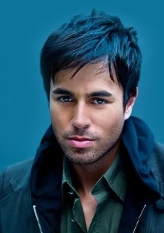 Enrique Iglesias with Fringe and Layered Hairstyle | French Fashions