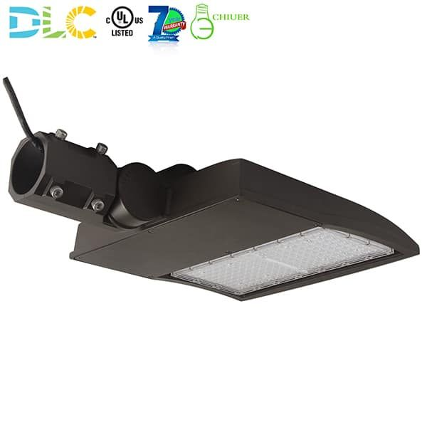 100 300 Watt Adjustable Dimmable Led Area Light Led Parking Lot Light Fixtures Houston Texas Bronze Finish 250 1000 Watt Mh Hps Shoebox Retrofit 120v 27 Led Parking Lot Lights Parking Lot Lighting Light Fixtures