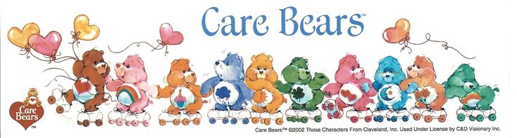 Care Bears Group, Sticker #carebears