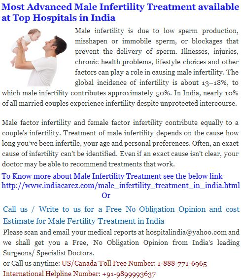 Types Of Male Infertility No Sperm