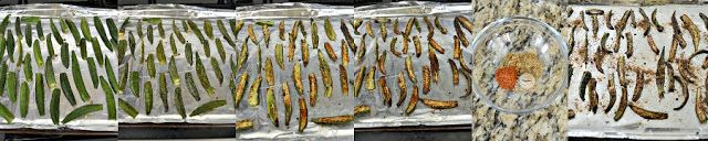 Shweta in the Kitchen: Crispy Bhindi - Crispy and Spicy Oven Baked Okra