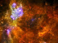 Una pasada: contempla el nacimiento de #estrellas. Hunting Massive #Stars with #Herschel #espacio #space