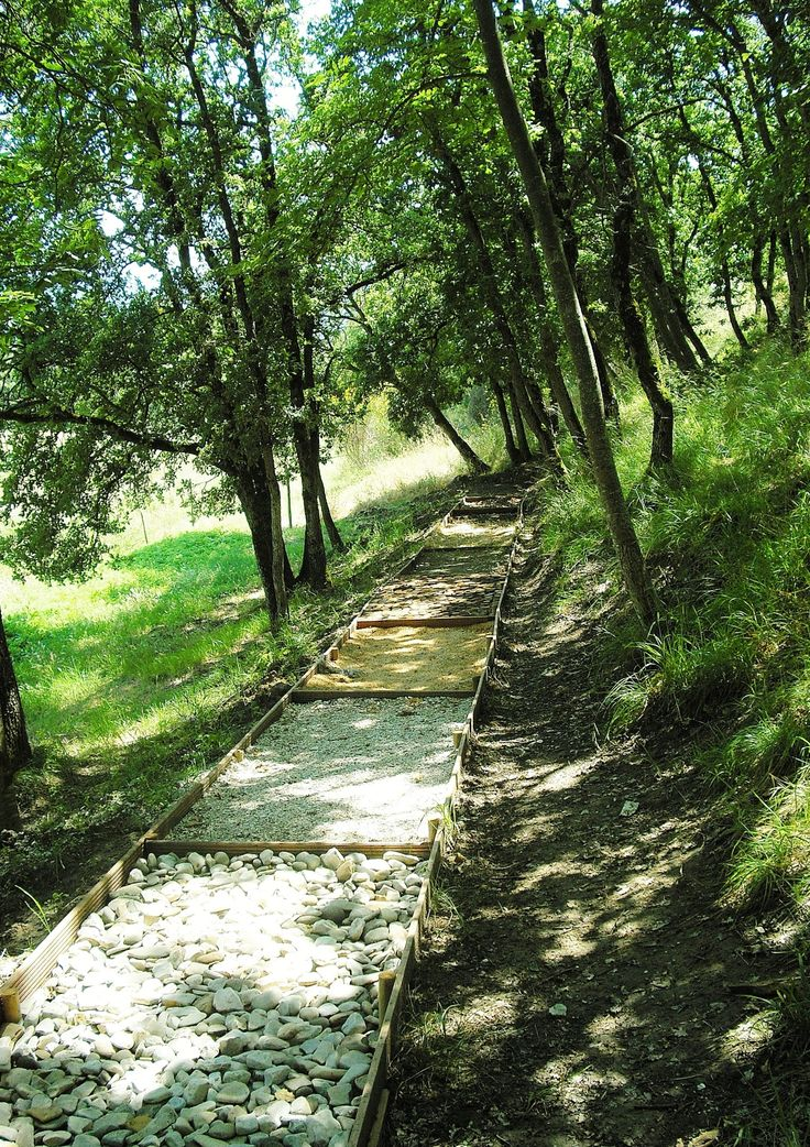 our barefoot path