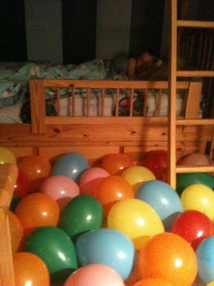 17 Best ideas about Birthday Balloon Avalanche