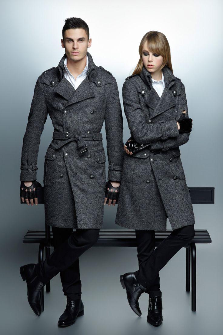 Spy VS Spy   Baptiste Giabiconi for Karl Lagerfeld F/W 2012-2013 via costinm.com