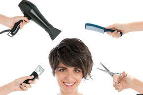Cómo cortarse el pelo uno mismo - Cortar el pelo a capas- Corte de pelo mujer - Cómo cortarme el pelo - Corte de pelo rizado - Corte de pelo a capas