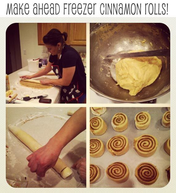 Pretty Providence | A Frugal Lifestyle Blog: Make Ahead Freezer Cinnamon Rolls
