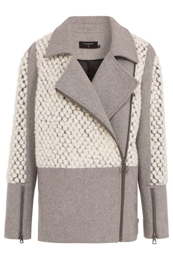 Women's Fleitz Off-white Jacket #ElevenParis Fall/Winter '14