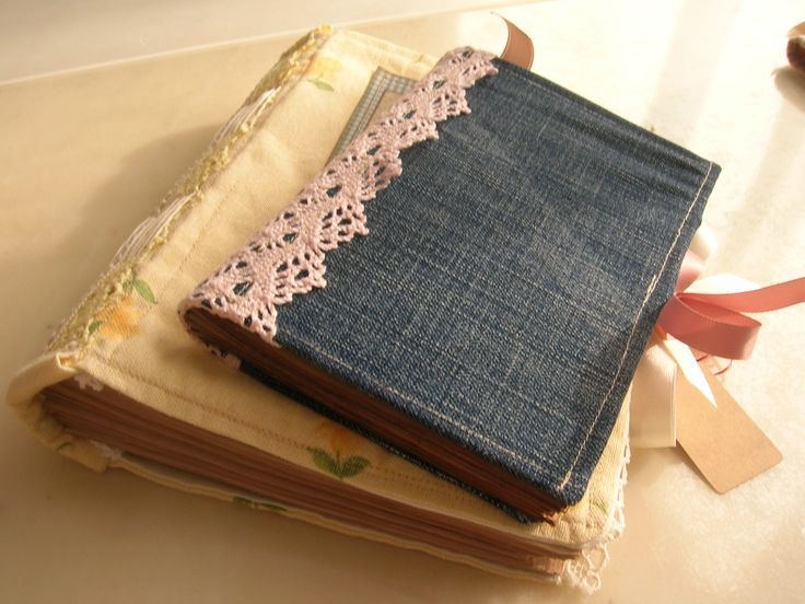 Fabric cover books