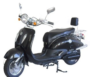 Black Green Bee Metro - Fully   Electric Motorcycle