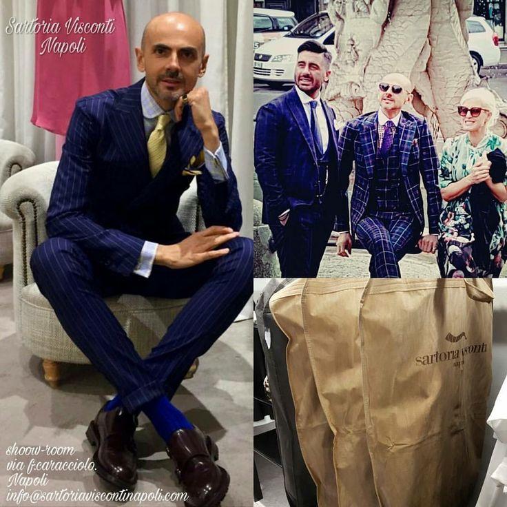 Enzo Miccio abito realizzati dalla sartoria Visconti Napoli