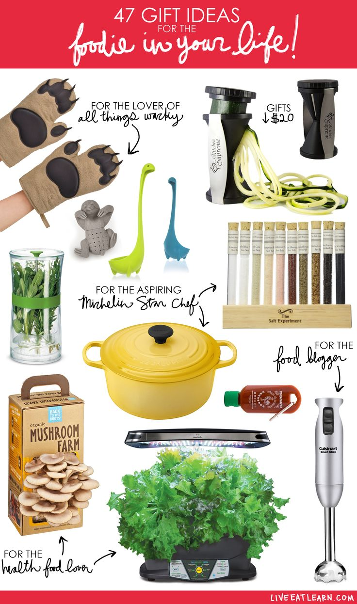 47 gift ideas for the foodie in your life - Best Gift For A Chef