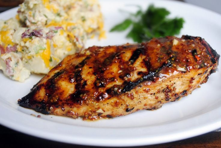 Simply Scratch » Grilled Honey Mustard Chicken