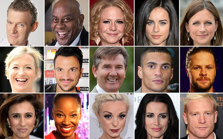Everything you need to know about 2015's Strictly Come Dancing contestants